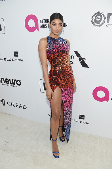 Multi Colored「27th Annual Elton John AIDS Foundation Academy Awards Viewing Party Sponsored By IMDb And Neuro Drinks Celebrating EJAF And The 91st Academy Awards - Red Carpet」:写真・画像(15)[壁紙.com]