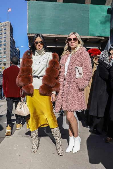Achim Aaron Harding「Street Style - New York Fashion Week February 2019 - Day 3」:写真・画像(13)[壁紙.com]