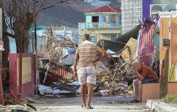 2017 Hurricane Irma「US Military Evacuates US Citizens From Devastated St Maarten」:写真・画像(12)[壁紙.com]