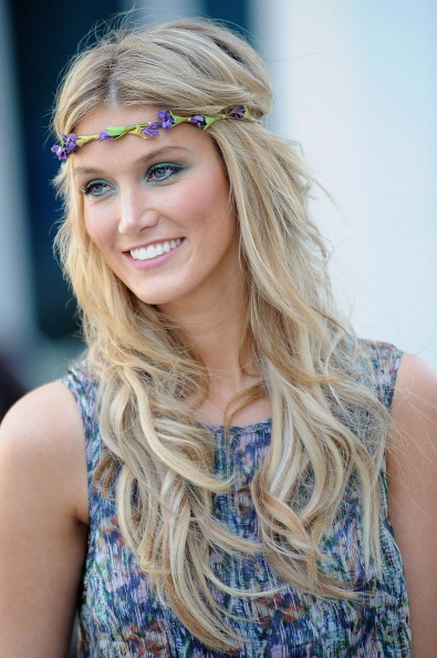 Green Eyeshadow「Delta Goodrem Opens The Gold Coast's Newest Hotel」:写真・画像(1)[壁紙.com]
