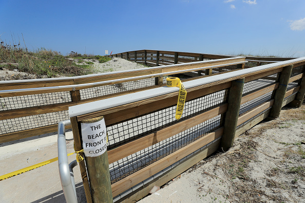 Jacksonville Beach「Coronavirus Pandemic Causes Climate Of Anxiety And Changing Routines In America」:写真・画像(16)[壁紙.com]