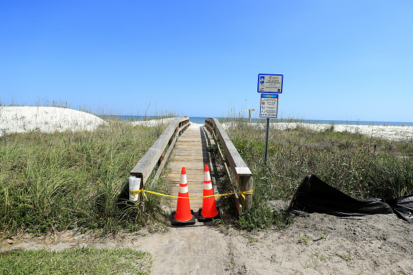 Jacksonville Beach「Coronavirus Pandemic Causes Climate Of Anxiety And Changing Routines In America」:写真・画像(2)[壁紙.com]