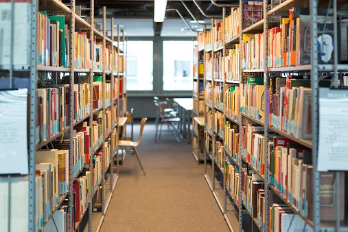 Library「Empty university library」:スマホ壁紙(9)