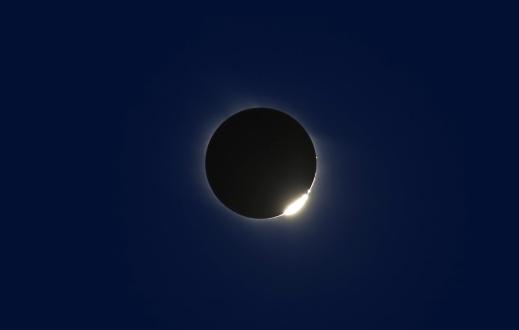 月「March 29, 2006 - Total solar eclipse from Libya.」:スマホ壁紙(14)