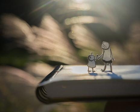 Parent「Fall, family」:スマホ壁紙(5)