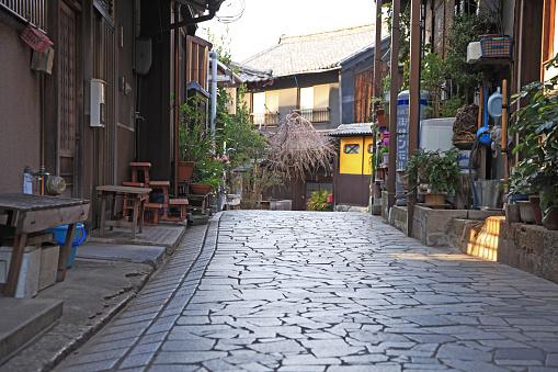 Japan「Old private houses, Tomonoura, Fukuyama, Hiroshima, Japan」:スマホ壁紙(3)