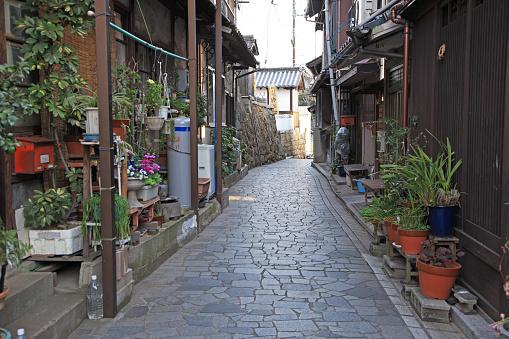 Japan「Old private houses, Tomonoura, Fukuyama, Hiroshima, Japan」:スマホ壁紙(2)
