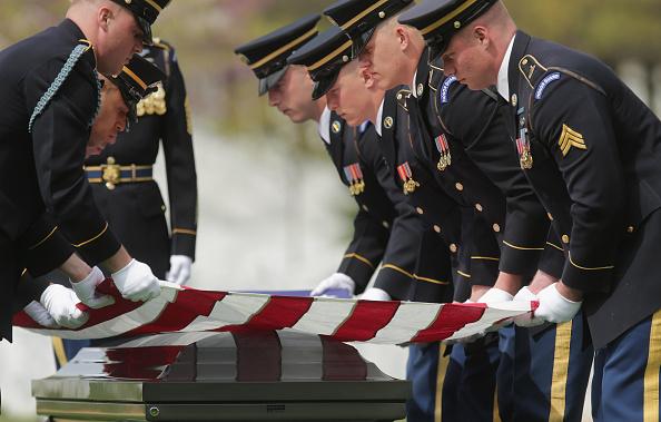 Infantry「Burial Service Held For Missing Korean War Soldier At Arlington Cemetery」:写真・画像(18)[壁紙.com]