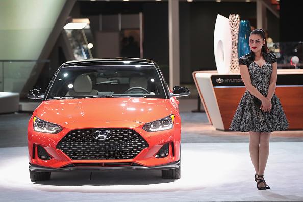Scott Olson「The North American International Auto In Detroit Hosts Automakers Debuting Latest Vehicles」:写真・画像(16)[壁紙.com]