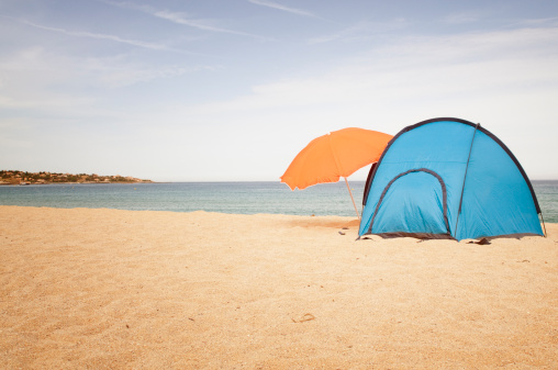 Eco Tourism「Camping at the Beach」:スマホ壁紙(10)