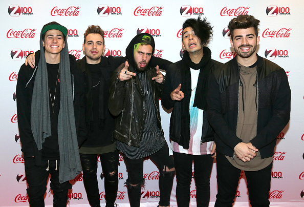 Five People「Z100 & Coca-Cola All Access Lounge At Hammerstein Ballroom - ARRIVALS」:写真・画像(9)[壁紙.com]