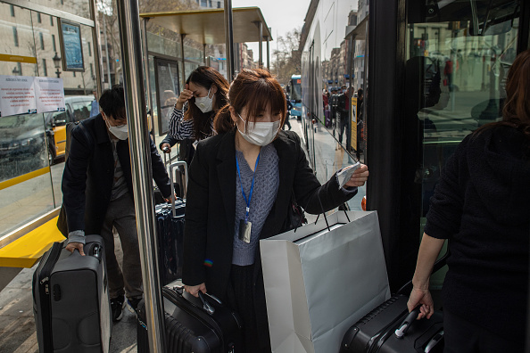 Surgical Mask「Barcelona Impacted By Coronavirus」:写真・画像(18)[壁紙.com]