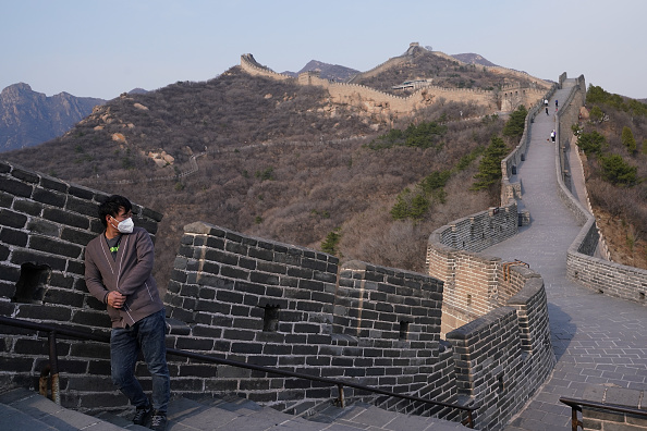 Protection「China Opens The Great Wall To Tourists As Global Coronavirus Cases Climb」:写真・画像(18)[壁紙.com]