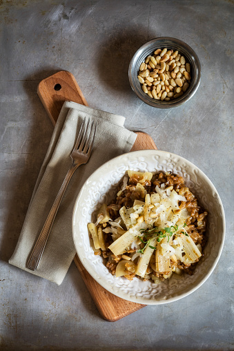 Pine Nut「Spelt risotto with salsifies, pine nuts and parmesan」:スマホ壁紙(9)