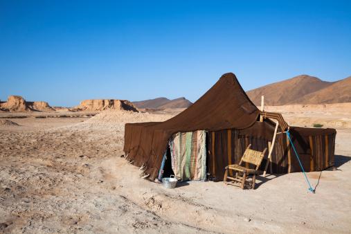Tent「Tradtional Berber tent in Moroccan Desert」:スマホ壁紙(12)
