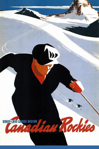 Skiing「'Ski In The Canadian Rockies'」:写真・画像(9)[壁紙.com]