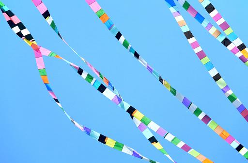 伝統的な祭り「リボン飾り」:スマホ壁紙(6)