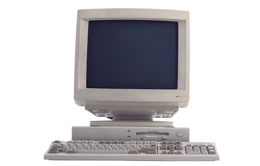 1990-1999「Computer monitor and keyboard」:スマホ壁紙(10)