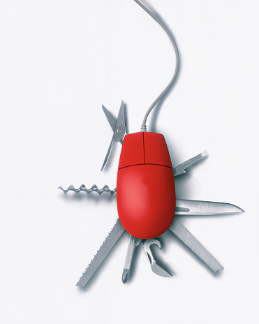 Penknife「Computer Mouse with Utility Tools」:スマホ壁紙(11)