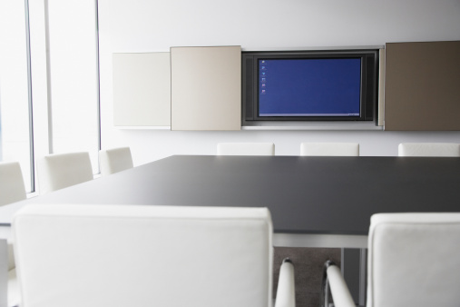 Meeting「Computer monitor in conference room」:スマホ壁紙(3)