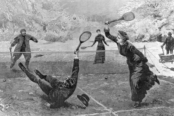 テニス「Snow Tennis」:写真・画像(12)[壁紙.com]