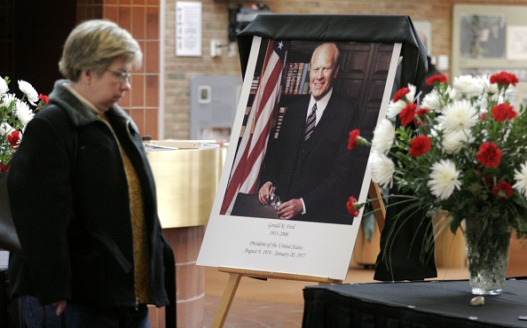 Bill Pugliano「U.S. Mourns Passing Of Former President Gerald Ford」:写真・画像(6)[壁紙.com]
