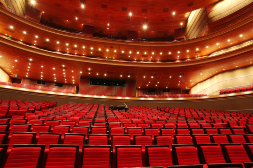 Concert Hall「Red Theater Seats」:スマホ壁紙(9)