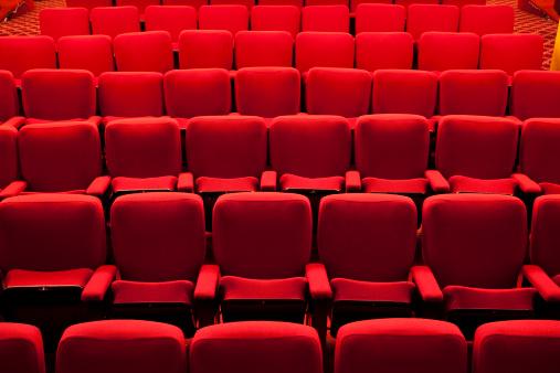 Film Festival「Red theater event seating」:スマホ壁紙(15)
