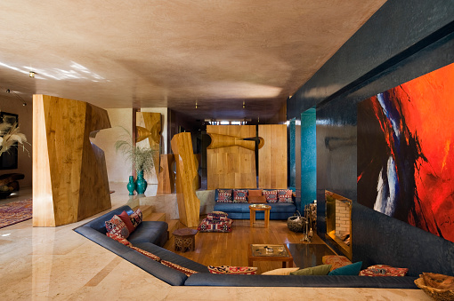 Mezzanine「Zniber house in Morocco built by Jean-Francois Zevaco」:スマホ壁紙(15)