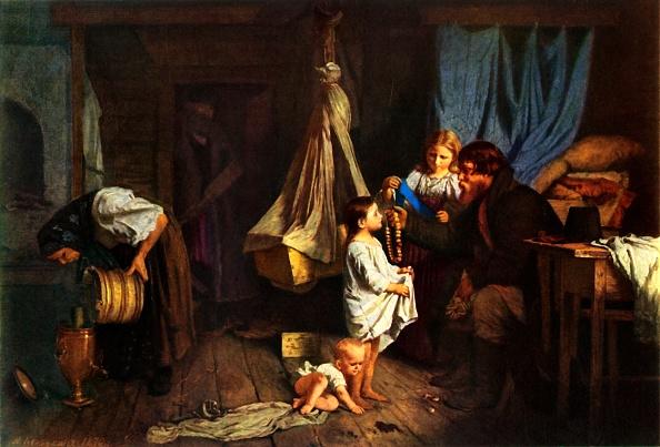 Realism「In A Peasants Room 1」:写真・画像(10)[壁紙.com]