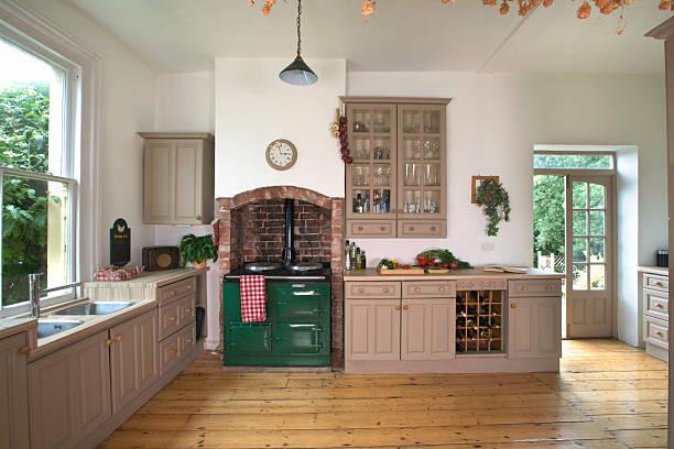 Kitchen interior:スマホ壁紙(壁紙.com)