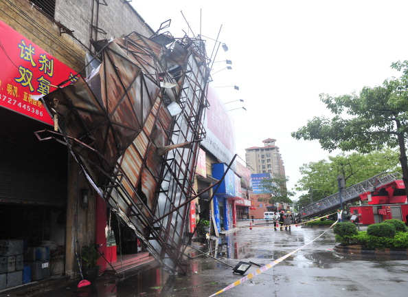 VCG「Typhoon 'Vicente' Lands In China's Guangdong Province」:写真・画像(9)[壁紙.com]
