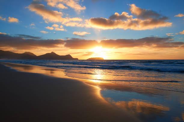 Sunrise On Porto Santo:スマホ壁紙(壁紙.com)