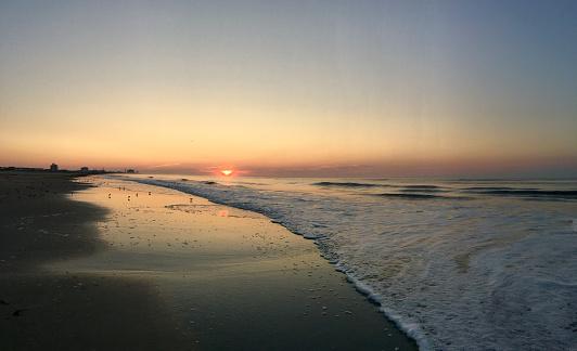 Wave「Sunrise on The Jersey Shore」:スマホ壁紙(10)