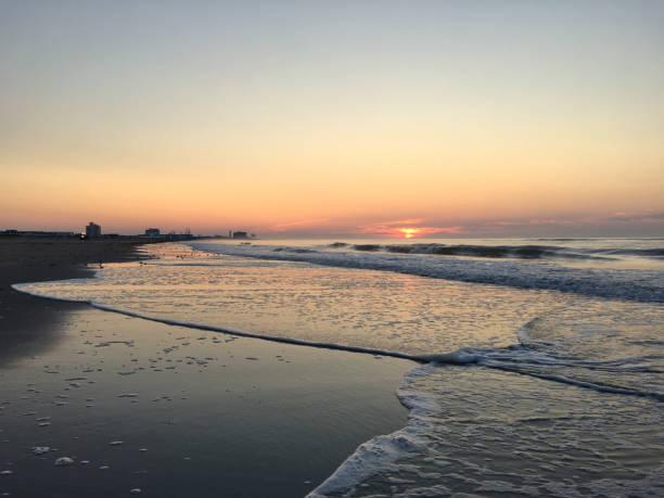 Sunrise on The Jersey Shore:スマホ壁紙(壁紙.com)