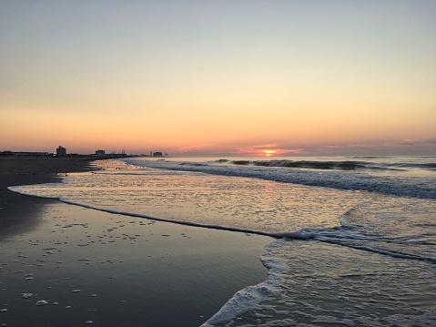 ニュージャージー州 ジャージー・ショア「Sunrise on The Jersey Shore」:スマホ壁紙(10)