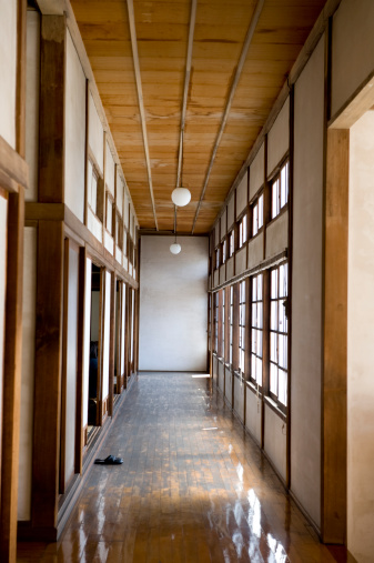 Tochigi Prefecture「Japanese style hallway」:スマホ壁紙(12)