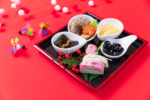 おせち「おけちと呼ばれる和風の新年の食事」:スマホ壁紙(12)
