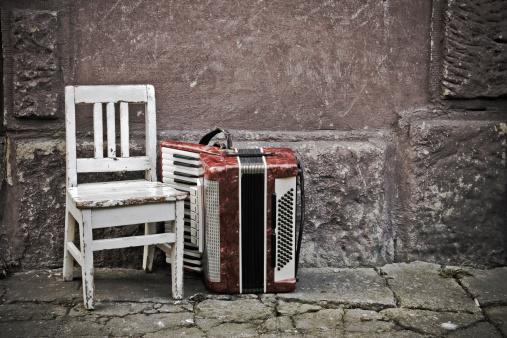 Accordion - Instrument「Music of the street」:スマホ壁紙(2)