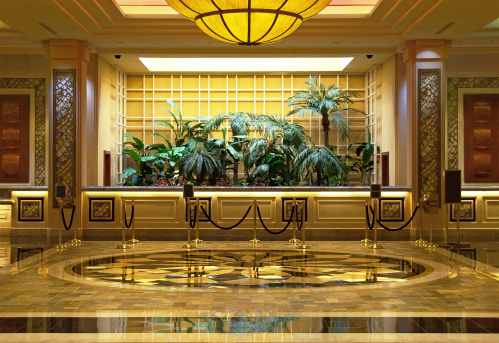 Hotel Reception「Luxurious Hotel Lobby」:スマホ壁紙(10)