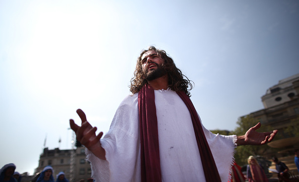 Jesus Christ「Actors Perform The Easter Passion Of Jesus In Trafalgar Square」:写真・画像(14)[壁紙.com]