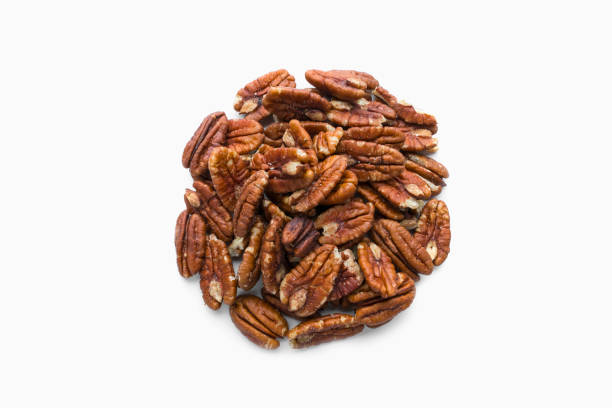 Pile of pecans in shape of a circle:スマホ壁紙(壁紙.com)