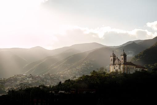 Cathedral「São Francisco de Assis church, city and mountains」:スマホ壁紙(6)