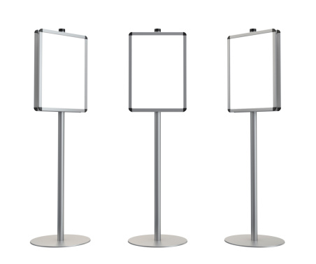 Market Stall「3d blank standing advertising digital poster」:スマホ壁紙(4)