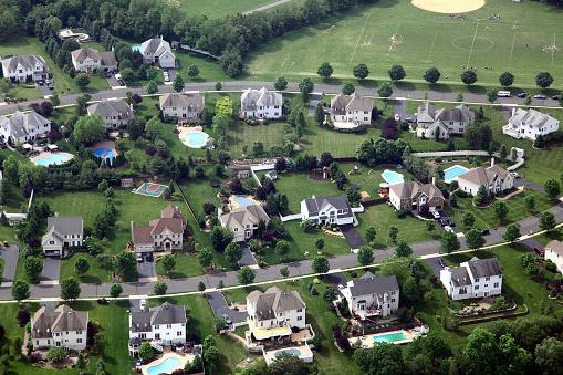 New Jersey「Suburban Neighbhorhood Aerial」:スマホ壁紙(15)
