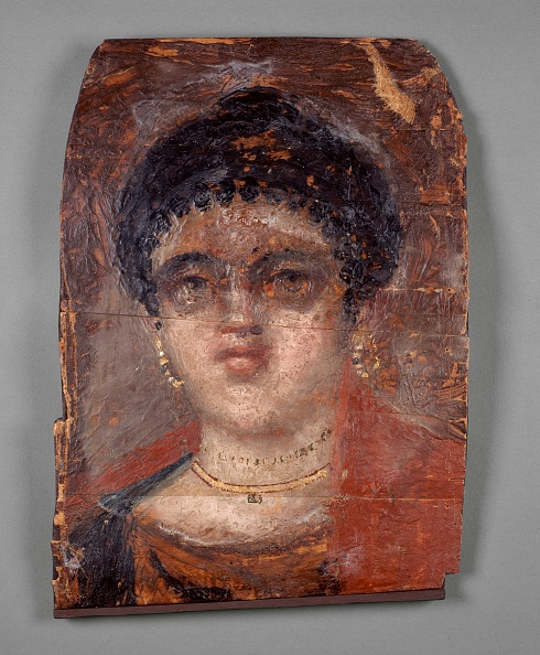 West Bank「Mummy Portrait Painted In Encaustic On A Wooden Panel」:写真・画像(14)[壁紙.com]