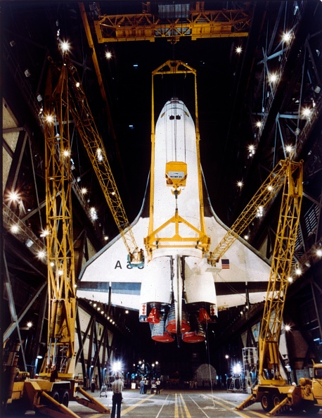 Vehicle Assembly Building「Shuttle In Vehicle Assembly Building」:写真・画像(17)[壁紙.com]
