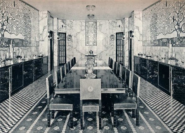 Palace「The Dining Room of the Stoclet Palace」:写真・画像(1)[壁紙.com]