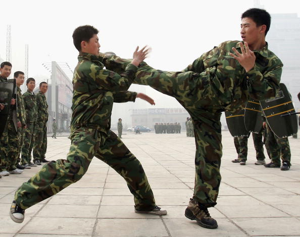 Strength「Chinese Security Guards Drill」:写真・画像(13)[壁紙.com]