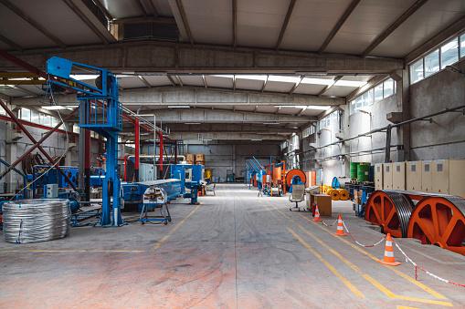 Workshop「Empty manufacturing factory」:スマホ壁紙(0)